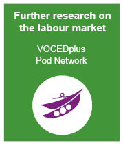 Further research on employment at VOCEDplus Pod Network