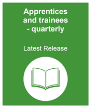 linking to the most recent release of apprentices and trainees quarterly information